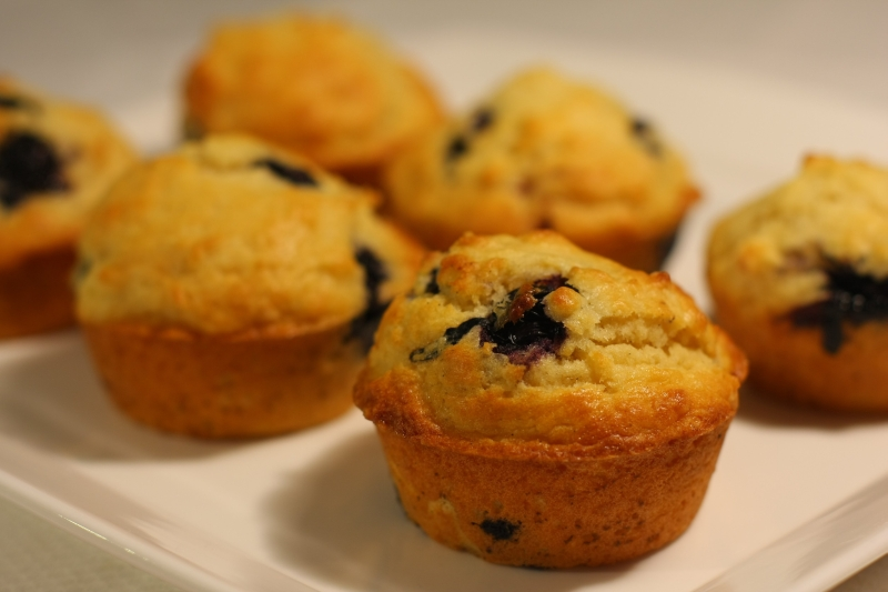 blueberry muffins resized