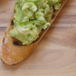 Bruschetta - all from above avo square
