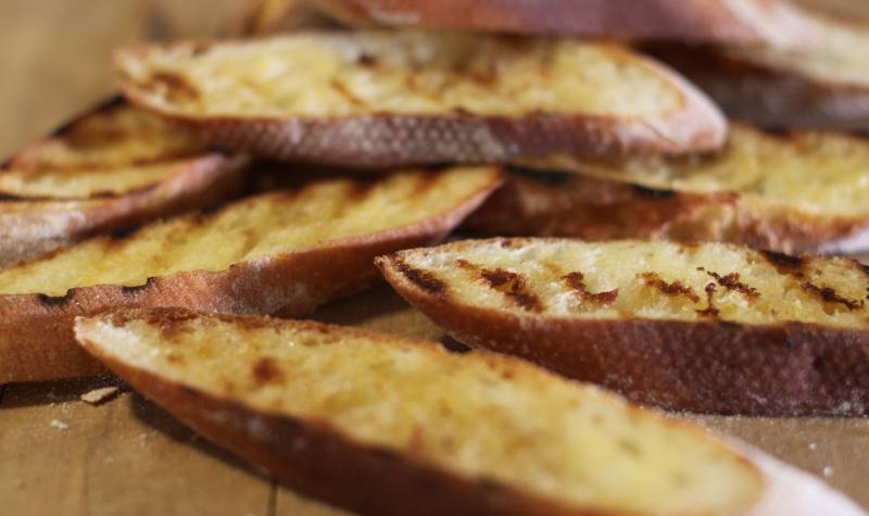 Pumpkin soup - bread resized