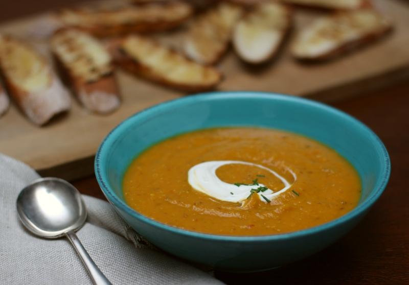 Pumpkin soup - horizontal resized