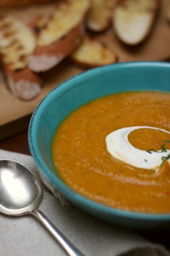 Pumpkin soup - vertical resized