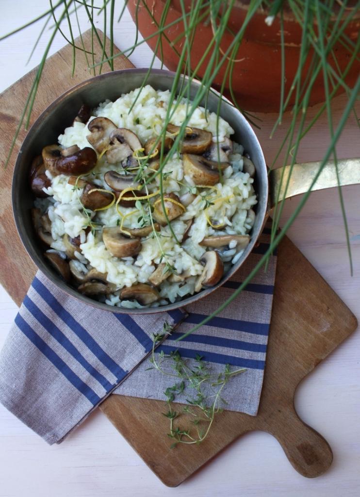 mushroom risotto1 resized