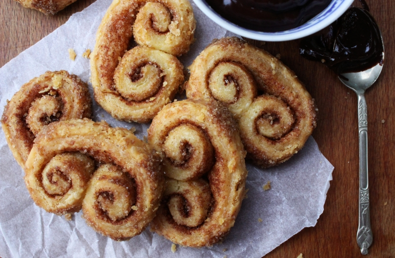 Cinnamon palmiers | Simple food