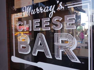 Murray's Cheese bar in Greenwich Village