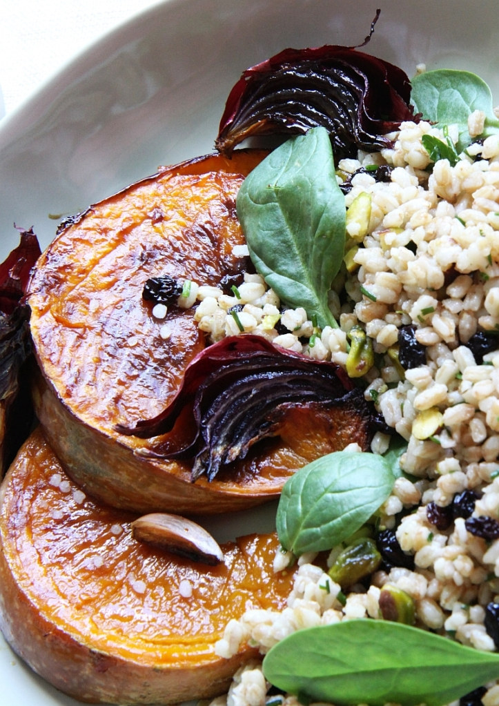 farro with pumpkin2 resized