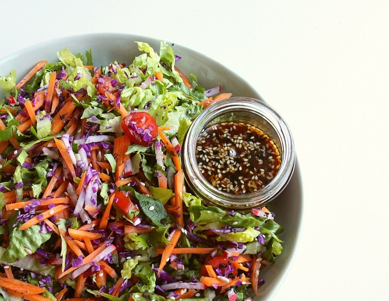 Sweet chilli and sesame dressing