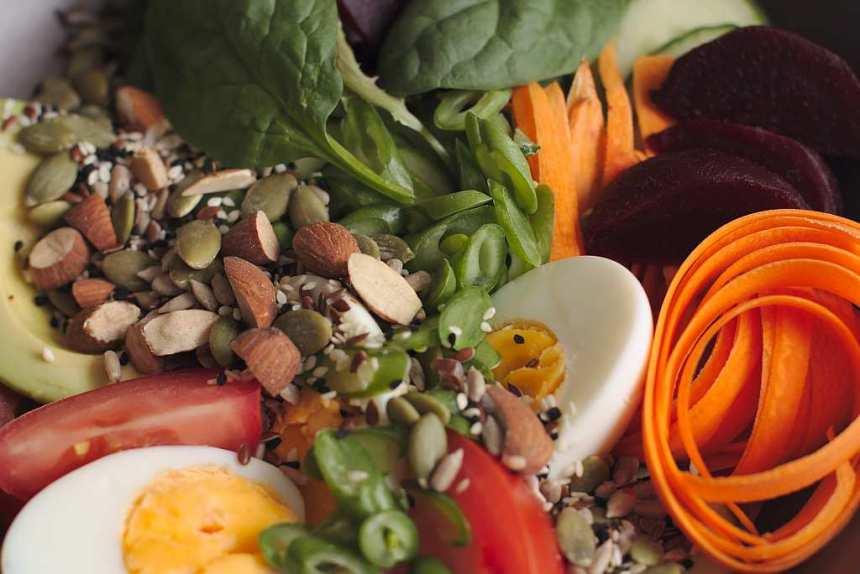 Super seeds and salad